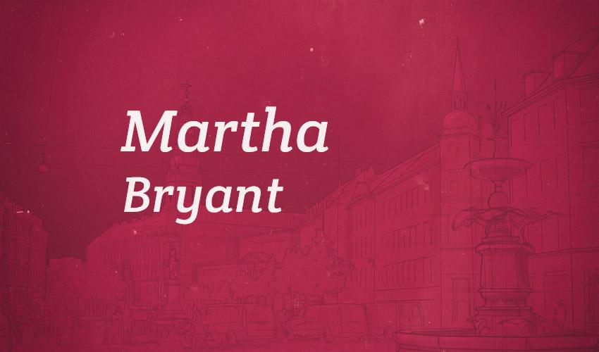 Martha Bryant - 100women